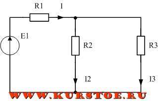 Делитель тока на резистивных элементах